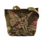 Flower Fairies Shopper Schleifenblume braun