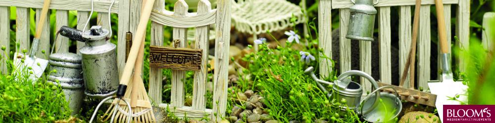 Elfen Shop Mini Garten